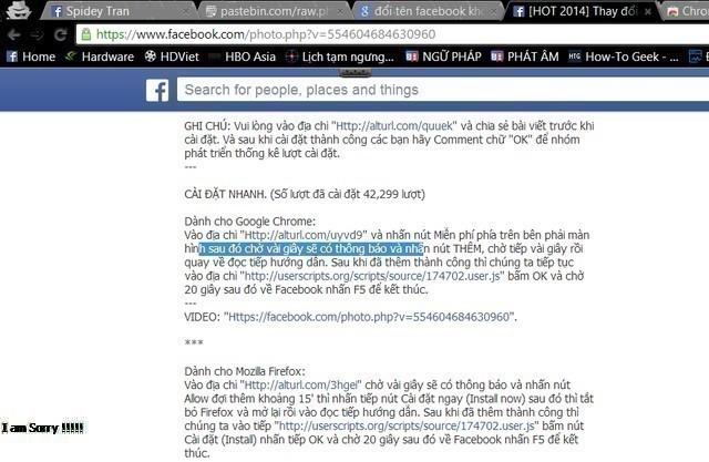 Các trò bẩn khiến bạn Auto tag Facebook và cách khắc phục (Phần 1)