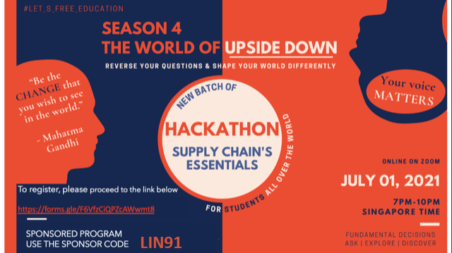 100% SPONSORED 4-WEEK COURSE: SUPPLY CHAIN