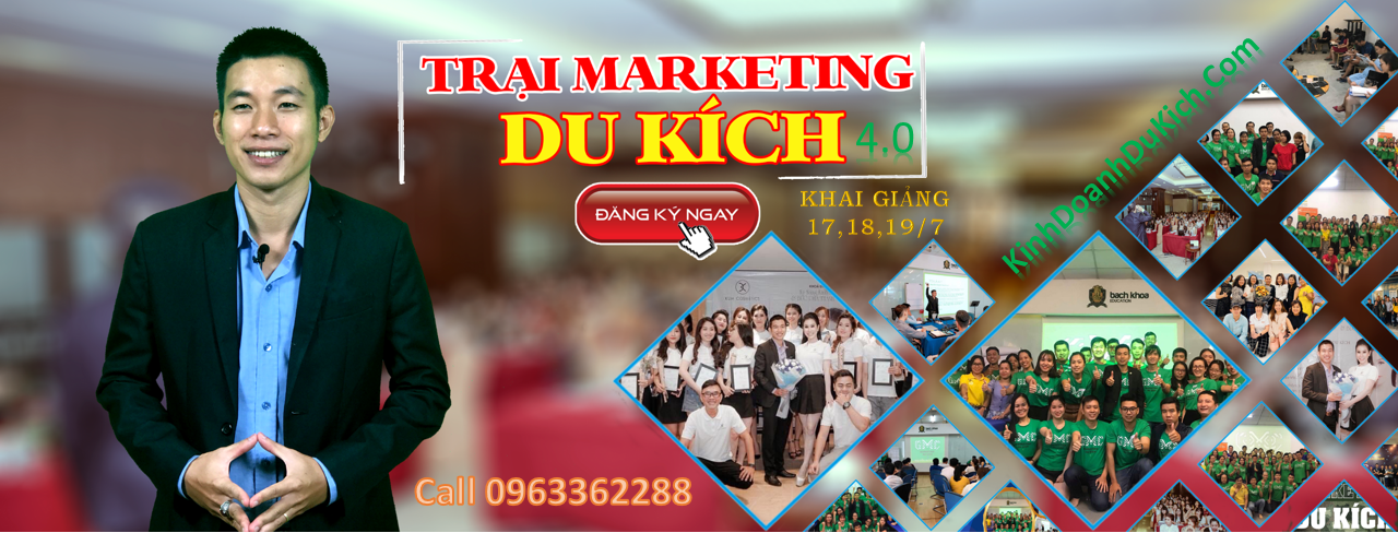 Trại Marketing Du Kích Coaching online 4.0 - Bí quyết tiếp cận hàng ngàn khách hàng online với chi phí 0 đồng