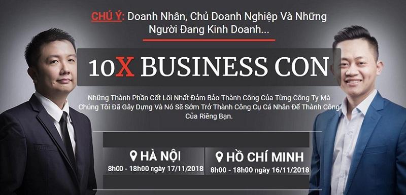 10X BUSINESS: XÂY DỰNG HỆ THỐNG BÁN HÀNG TỰ ĐỘNG