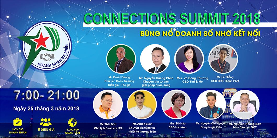 CONNECTIONS SUMMIT 2018 - Bùng Nổ Doanh Số Nhờ Kết Nối