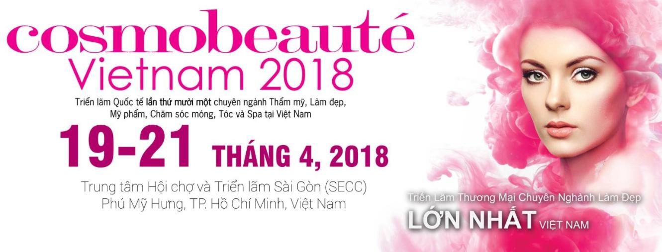 Cosmobeauté Vietnam 2018