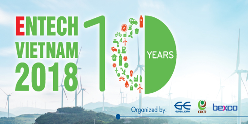 Sự kiện Triển lãm Quốc tế Công nghệ Môi trường và Năng lượng Năm 2018