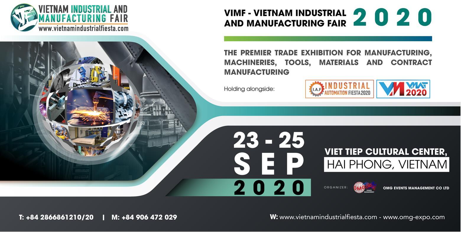 Triển Lãm Công Nghiệp Và Sản Xuất Việt Nam – VIMF 2020