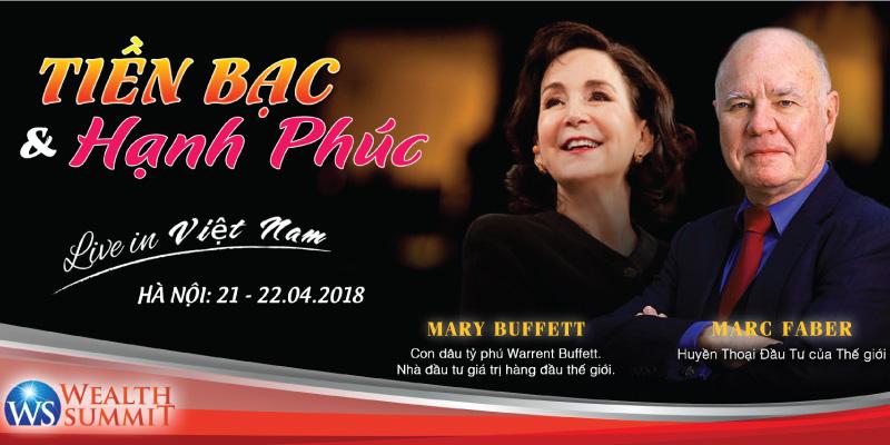 WEALTH SUMMIT 2018 - Hội thảo 2 ngày về làm giàu